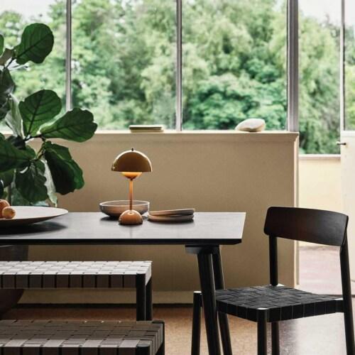 &tradition Flowerpot VP9 draagbare tafellamp-Mat zwart