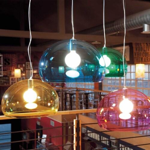 Kartell Big Fly LED hanglamp-Wit-glans