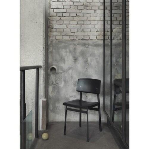 muuto Loft stoel-Zwart-zwart