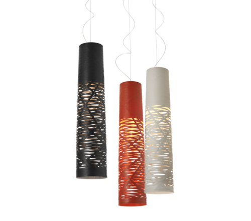 Foscarini Tress hanglamp-Piccola-Zwart