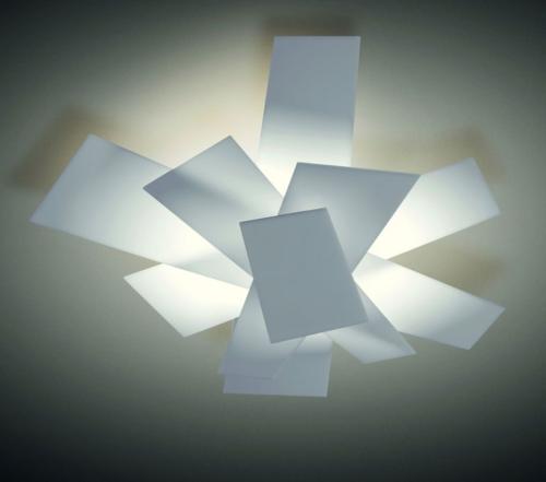 Foscarini Big Bang plafondlamp-Wit