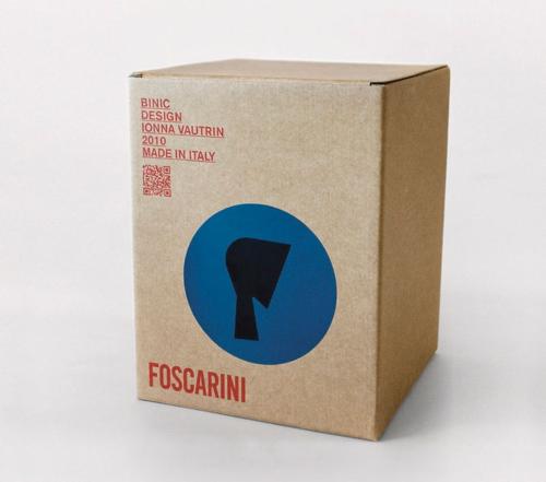 Foscarini Binic tafellamp-Blauw