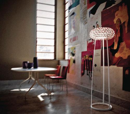 Foscarini Caboche vloerlamp-Transparant-Grande