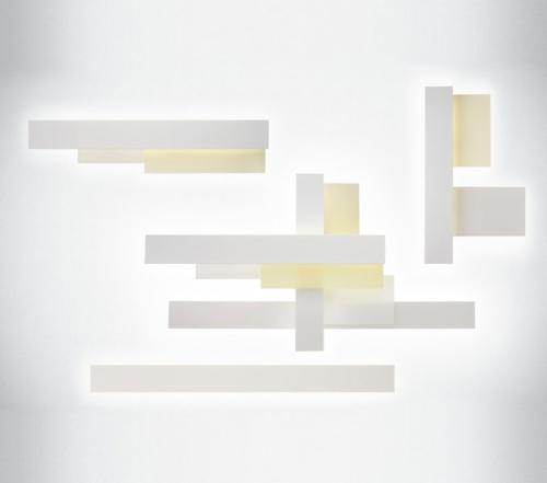 Foscarini Fields wandlamp-Wit