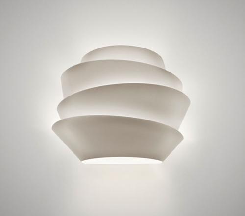 Foscarini Le Soleil wandlamp-Wit