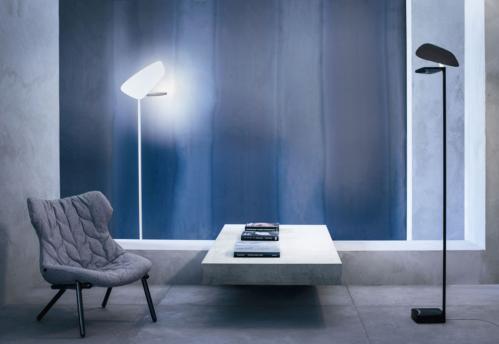 Foscarini vloerlamp Lightwing-Zwart