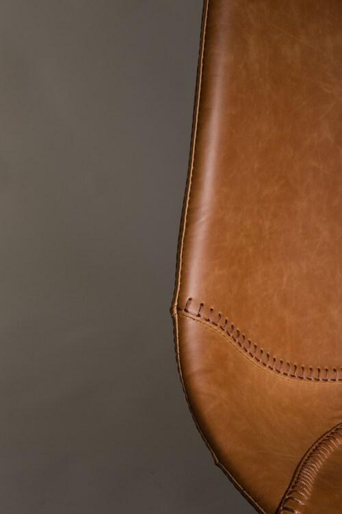 Dutchbone Franky stoel-Bruin