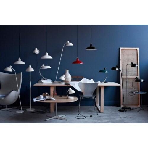 Lightyears KAISER idell Luxus vloerlamp-Mat zwart