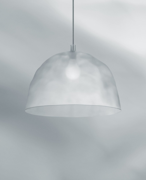 Foscarini Bump hanglamp-Frost