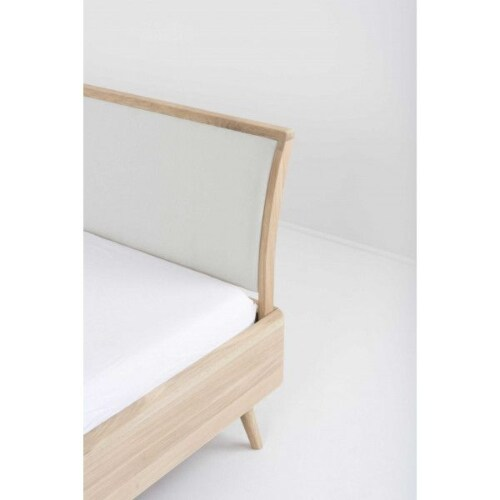 Gazzda Ena bed-180x200 cm-Hardwax oil white