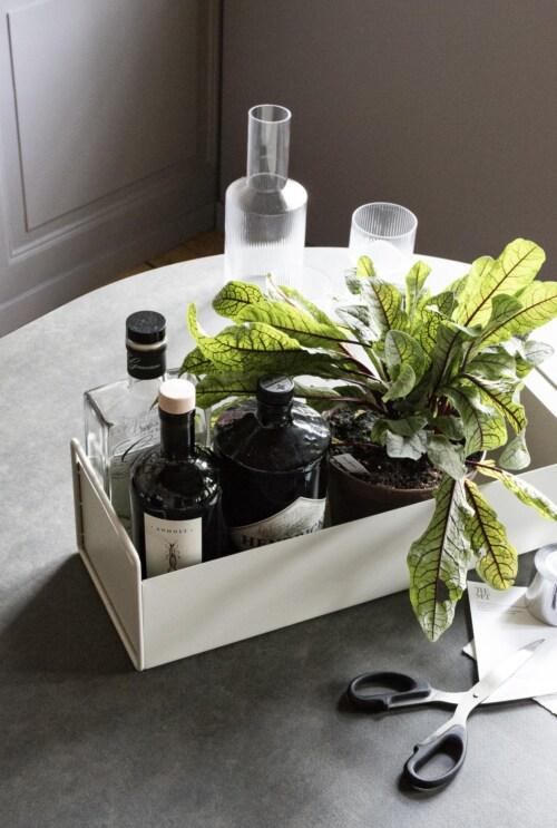 Ferm Living Plant Box small plantenbak-Licht grijs