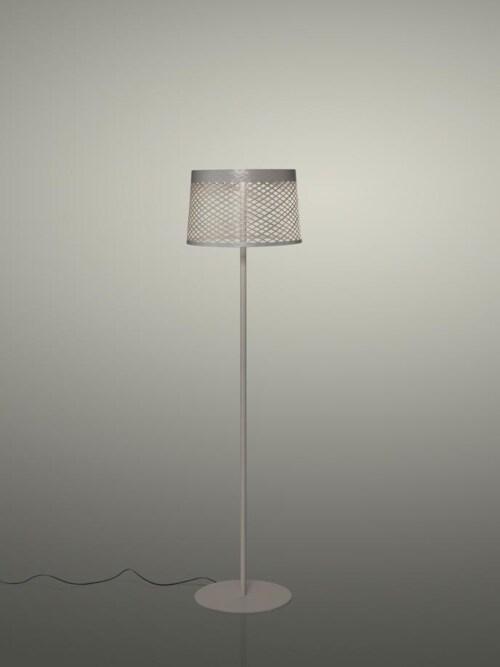 Foscarini Twiggy Grid Lettura Outdoor vloerlamp-Grijs