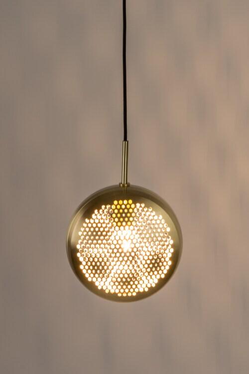 Zuiver Gringo Flat hanglamp-Messing