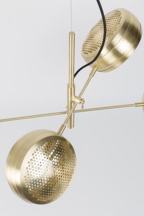 Zuiver Gringo Multi hanglamp-Messing