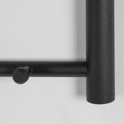 Spinder Design Suza 3 wandkapstok zwart