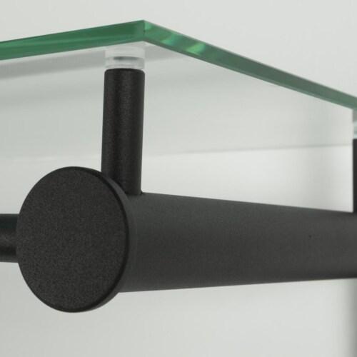 Spinder design Suza 5 wandkapstok zwart