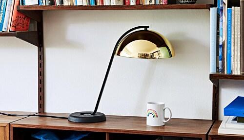 HAY Cloche LED tafellamp -Messing