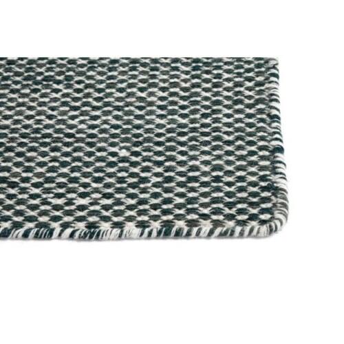 Hay Moiré vloerkleed-200x300 cm-Donker groen