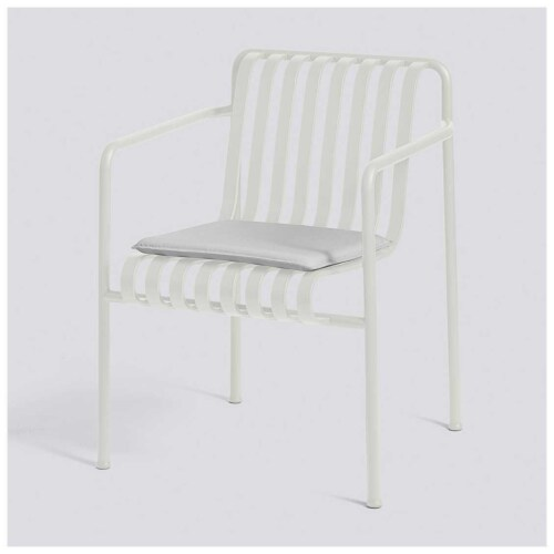 HAY Palissade Dining armchair zitkussen-Sky Grey