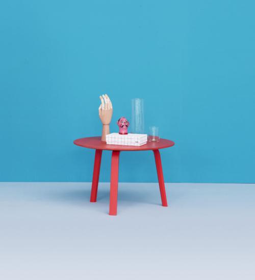 HAY Bella salontafel-Zwart-39 cm hoog
