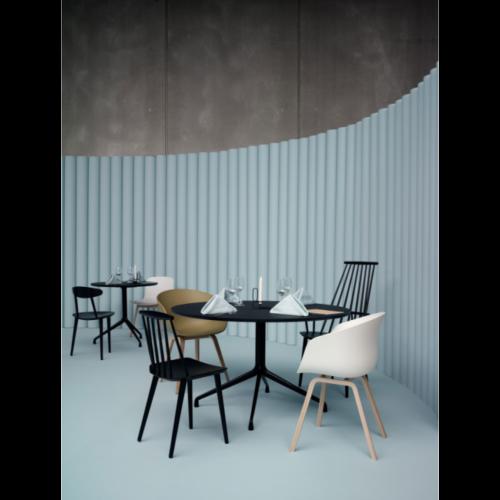 HAY About a Chair AAC22 stoel zeep onderstel-Groen