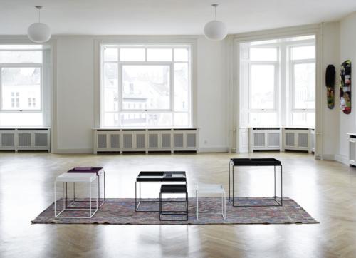 HAY tafel Tray table tafel-30x30 cm-Wit