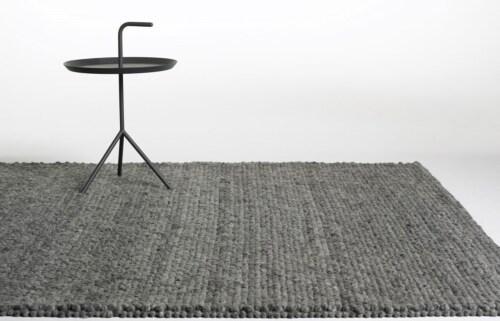 HAY Peas vloerkleed-Soft grey-140x200 cm