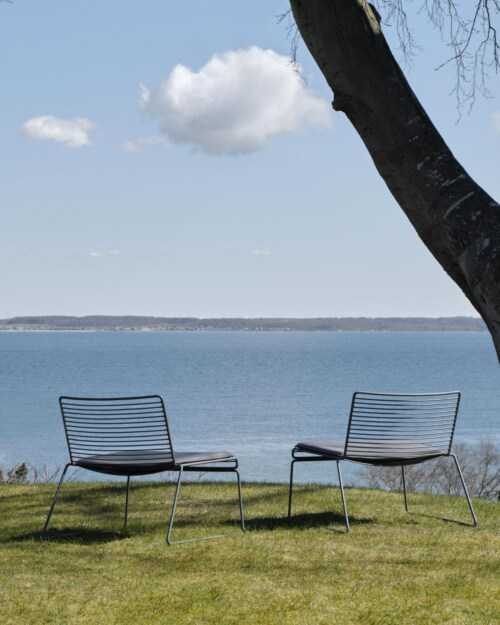 Hay Hee Lounge Chair kussen-Anthracite