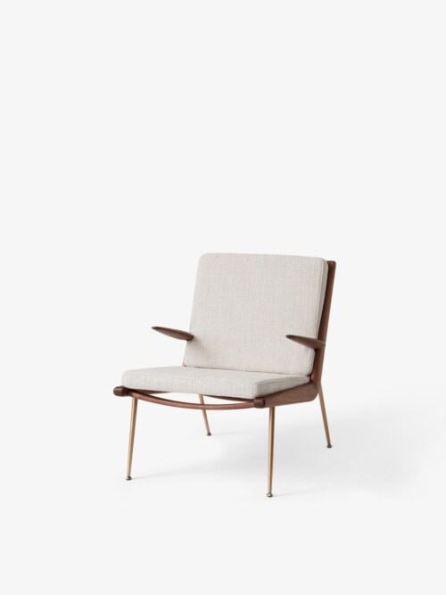 &tradition Boomerang HM2 fauteuil-Snow-Walnoot olie