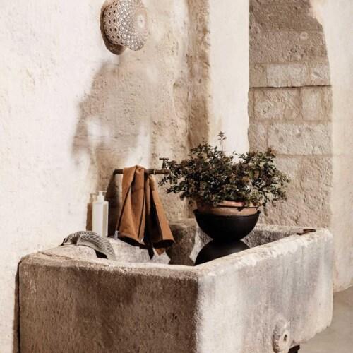 Ferm Living Hourglass bloempot Large-50x73 cm (Øxh)