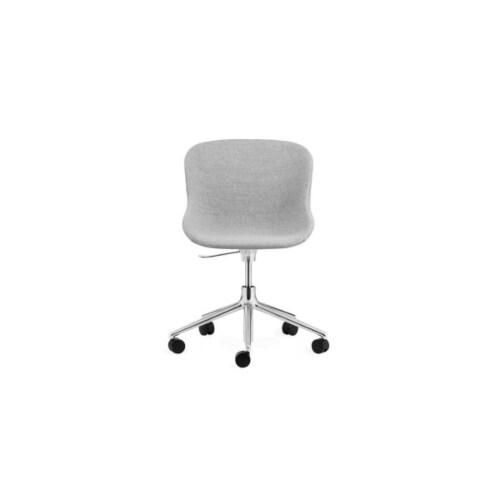 Normann Copenhagen Hyg Swivel bureaustoel full upholstery-Grijs