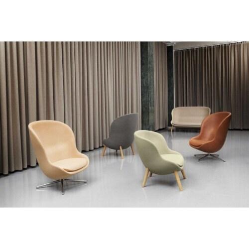 Normann Copenhagen Hyg High Oak fauteuil -Natural