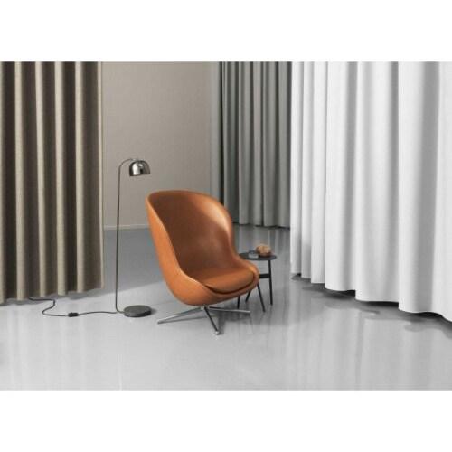 Normann Copenhagen Hyg High Swivel fauteuil -Crème