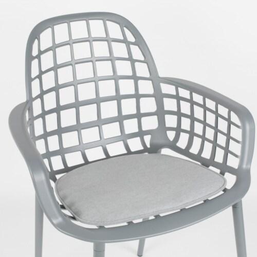 Zuiver Albert Kuip stoelkussen-Licht grijs
