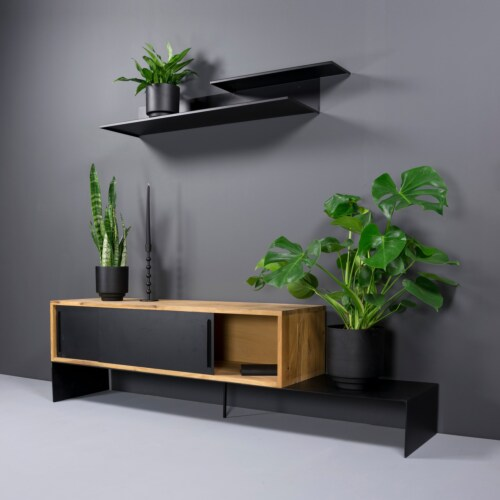 Torna Design Folded 2 wandplank-119x16x29,5 cm
