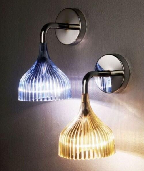 Kartell É wandlamp-Geel