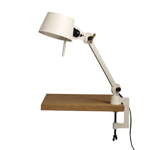 Tonone Bolt 1 Arm Small Clamp bureaulamp-Pure white
