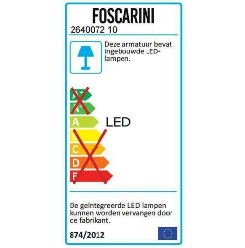 Foscarini Spokes 2 MyLight LED hanglamp dimbaar Bluetooth-Wit