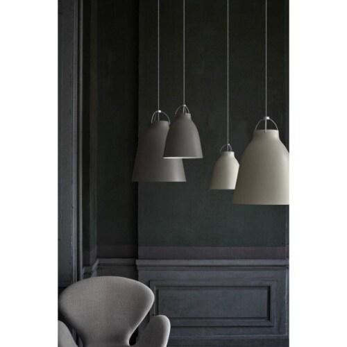 Lightyears Caravaggio mat P2 hanglamp-Grey 45