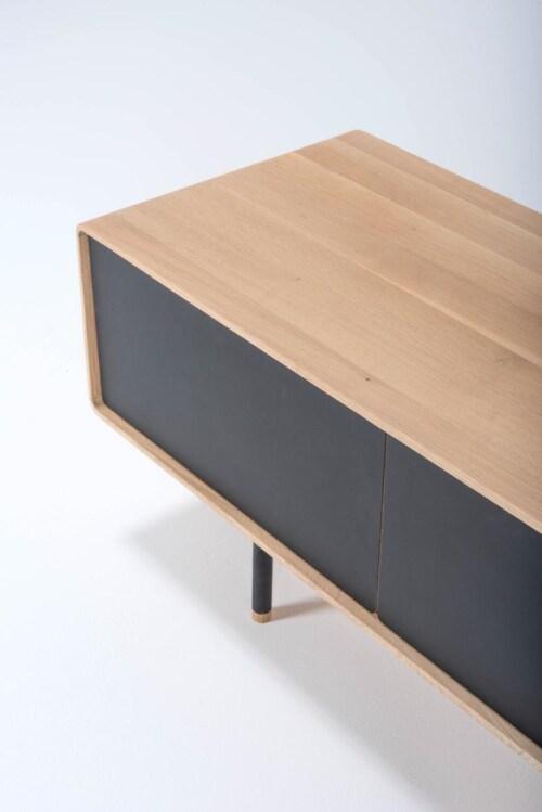Gazzda Fina Lowboard 160 dressoir-Nero
