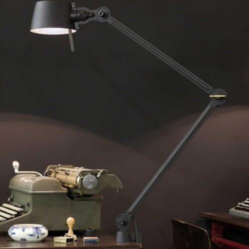 Tonone Bolt 2 Arm Clamp bureaulamp-Daybreak rose