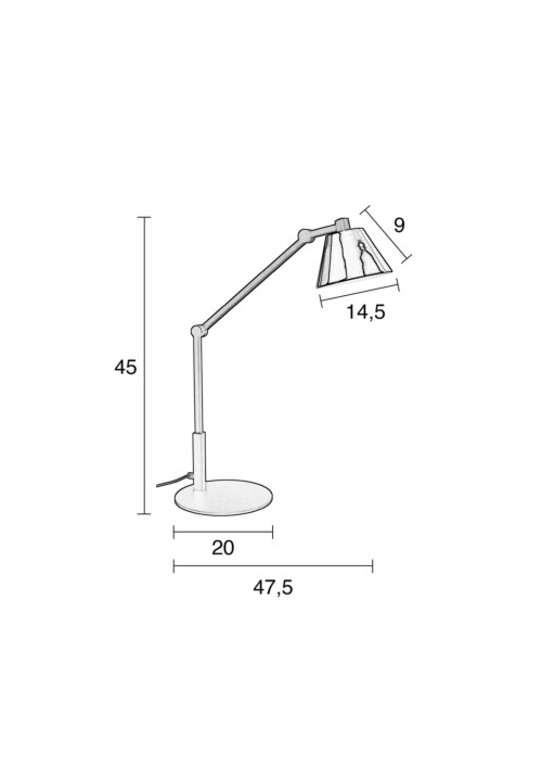 Zuiver Lub bureaulamp