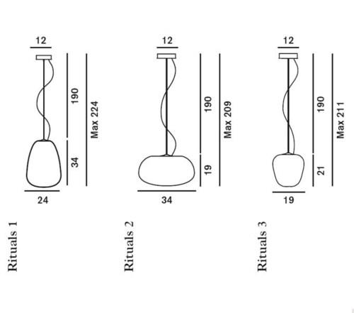 Foscarini Rituals hanglamp-nr. 1