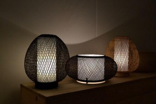 Ay Illuminate Twiggy Egg vloerlamp -Bruin