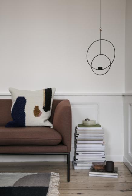 Ferm Living Kelim Merge vloerkleed-160x250 cm