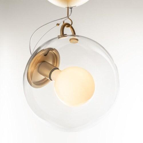 Artemide Miconos Goud plafondlamp