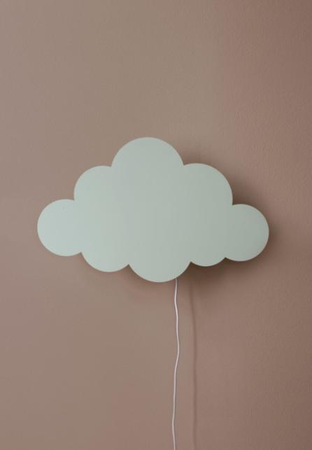 Ferm Living Cloud wandlamp-Mint