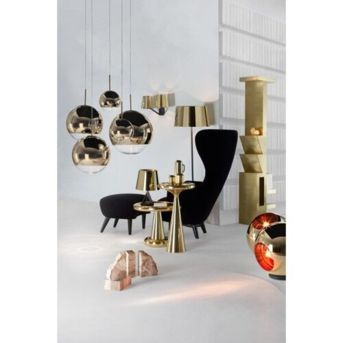 Tom Dixon Mirror Ball 50 cm-Goud