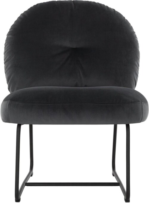 Must Living Bouton fauteuil-Donker grijs