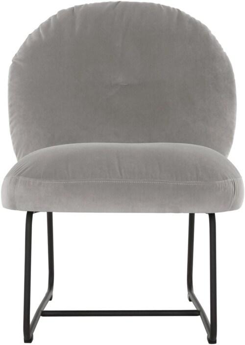 Must Living Bouton fauteuil-Licht grijs